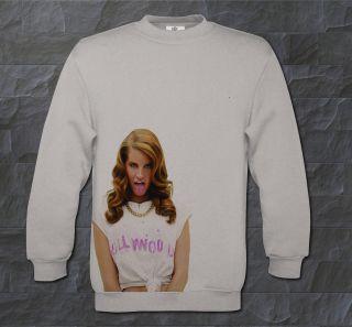 Lana Del Rey Colour Sweatshirt, Born To Die Music, Jumper Hoodie Retro