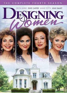 Designing Women The Complete Fourth Season DVD, 2010, 4 Disc Set