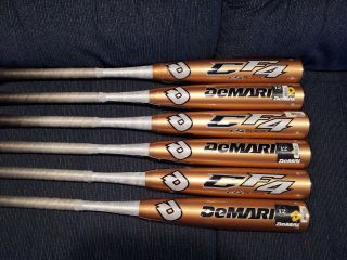 DEMARINI CF4 BLACK 29/21 ( 8) BIG BARREL BASEBALL BAT, CFR10,NIW