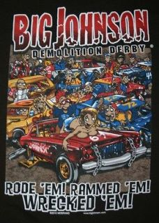 Big Johnson T Shirt Demolition Derby