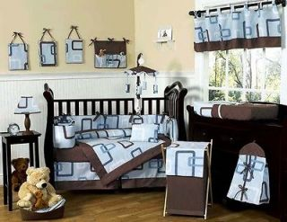 AND BROWN BABY CRIB BEDDING SET FOR NEWBORN BOY SWEET JOJO DESIGNS