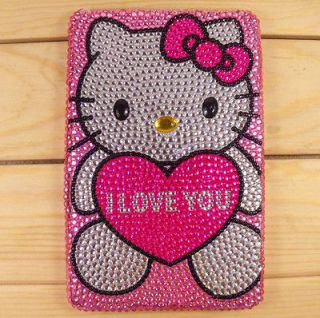 Hello Kitty crystal Bling Diamond cover case for  Kindle Fire HD