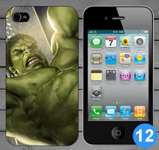 Marvel Avengers Hulk Iron Man Thor Hard Back Case Cover For Apple