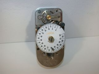 DIEBOLD TIME LOCK BANK VAULT 120HR SAFE TIMER MOVEMENT CLOCK #40