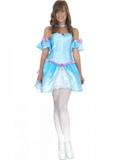 REBEL TOONS CINDERELLA COSTUME NEW! AGES 10 12 AND 13+ 34186