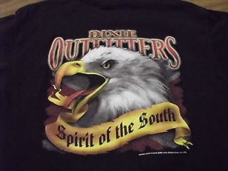 DIXIE OUTFITTERS SPIRIT OF THE SOUTH T SHIRT eagle ADULT L AWESOME