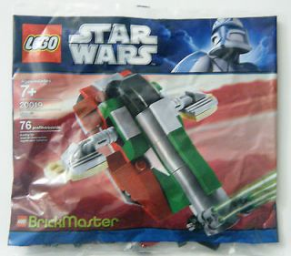 LEGO 20019 STAR WARS BRICKMASTER EDITION   BOBA FETTS SLAVE I