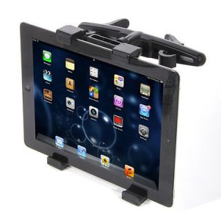 Car Back Seat Headrest Mount Bracket Holder for iPad 1/2/3 Tablet PCs