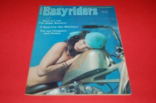 EASYRIDERS MAGAZINE MAY 1976 GOOD CONDITION