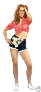 Daisy Mae Dukes Hazzard Hazard Adult Costume   Standard