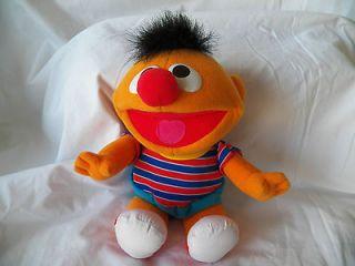 Sesame Street, Tickle Me Ernie, Plush Doll 12, Works Great Hard to