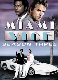 Miami Vice   Season 3 DVD, 2007, 5 Disc Set