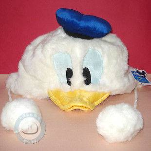 Disney Donald Duck Costume Hat Cap Plush Cosplay Soft