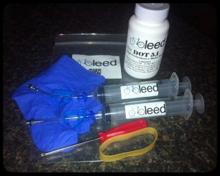 Avid Disc Brake Bleed Kit, Juicy, Elixir brakes, DOT 5.1, Extras USA