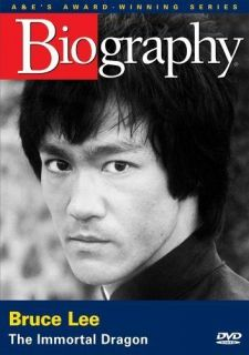 Biography   Bruce Lee The Immortal Dragon (A&E DVD Archives) NEW DVD