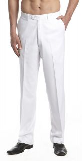 mens white dress pants in Pants