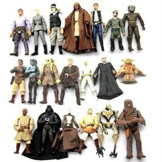 wars Darth Vader Han Solo Trooper Yoda KIT FISTO Droid Figures S31