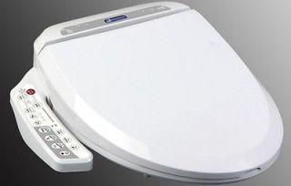 Bidet4me E 200A Electric Bidet Toilet Seat Elongated White  DIY Kit