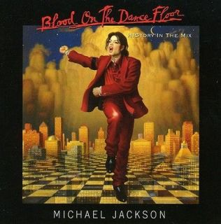 Blood on the Dance Floor History in the Mix by Michael Jackson (CD