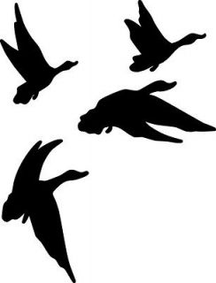 10 x 7 Duck Hunting Vinyl Decal Sticker     ​