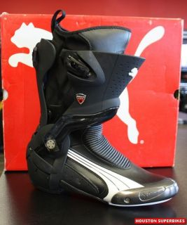 DUCATI PERFORMANCE PUMA 1000 V2 ROAD RACING MOTORCYCLE BOOT CORSE US 8