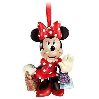 Disney Holiday Christmas Tree Decoration MINNIE MOUSE SHOPPING