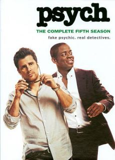 Psych The Complete Fifth Season DVD, 2011, 4 Disc Set