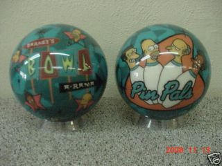 SIMPSONS PINPALS BOWLING BALL 8LB NEW IN BOX