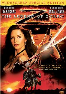The Legend of Zorro DVD, 2006, Widescreen