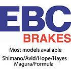 EBC Disc Brake Pads   Standard Green Compound   Pair