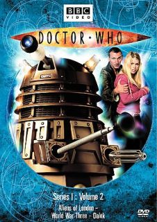 Doctor Who Series 1 Volume 2 DVD, 2006