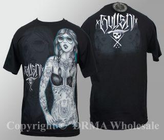 Authentic SULLEN CLOTHING Heavy Metal T Shirt M L XL XXL 3XL Street