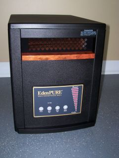 Eden Pure GEN3 Infrared Electric Heater Factory Sealed Heat Up to