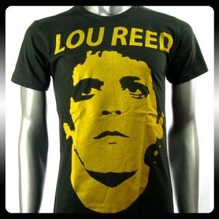 Lou Reed American Music Rock n Roll Men T shirt Sz L