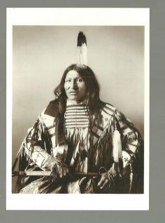 Kicking Bear Miniconjou Sioux Indian Native American Art Postcard