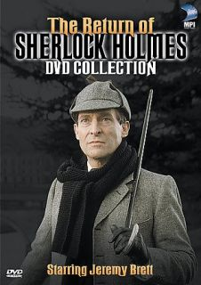 The Return of Sherlock Holmes   DVD Collection DVD, 2003, 5 Disc Set