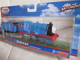 FISHER PRICE THOMAS&FRIENDS TRACKMASTER MOTORISED EDWARD(no.2 engine