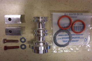 Ford 6.0 Diesel EGR Eliminator   Spool W/clamps   bolts & O ring