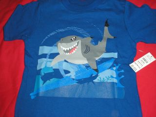 XS Bruce the Shark of Finding Nemo Fame Tee ~ NWT Disney 3   4 years