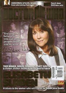 Doctor Who Magazine 440 Elisabeth Sladen Sarah Jane Smith Christmas