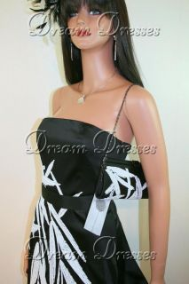 BNWT Coast Eliza Black Satin Dress & Bag 8 RRP £200
