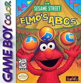 Sesame Street Elmos ABCs Nintendo Game Boy Color, 1998