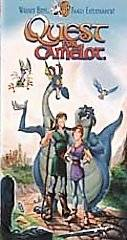 Quest For Camelot VHS, 1998, Warner Brothers Family Entertainment Clam
