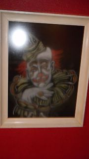 clown painting in Art from Dealers & Resellers