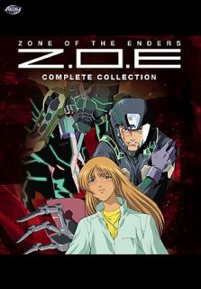 Zone of the Enders   The Complete Collection DVD, 2006, 6 Disc Set