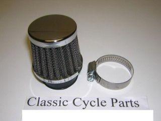 Honda CB125 CB160 CB175 CL175 CL160 Chrome Air Filer