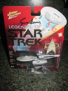 Star Trek Johnny Lightning Enterprise NCC 1701 series 2 Leonard Nimoy