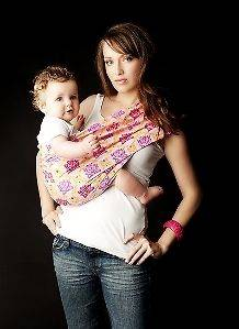 New Seven Slings Baby Infant Newborn Carrier Sling Cute Stylish
