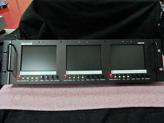 Marshall V R53P SDI Rack Mountable Triple 5 LCD Monitors