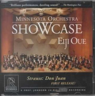 STRAUSS, RICHARD   MINNESOTA ORCHESTRA SHOWCASE   NEW CD